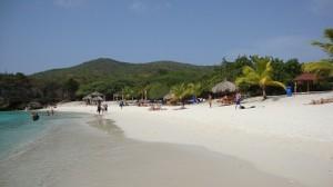 Mooi strand op Curacao
